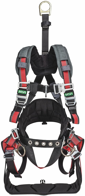 MSA Safety 10152949 EVOTECH Derrick Arnés de seguridad, espalda y ...