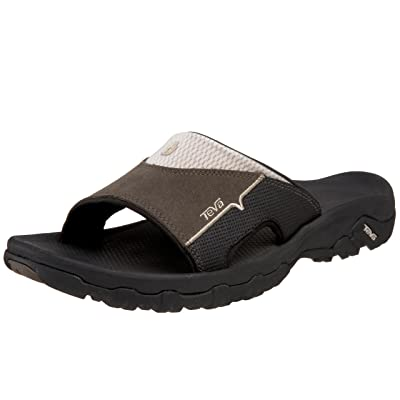 Teva Men's Katavi Slide Outdoor Sandal, Bungee Cord, 9 US | Sport Sandals & Slides