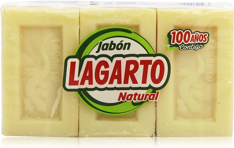 Lagarto - Jabón Natural 750g - Pack de 2 (Total 1500 ml): Amazon ...