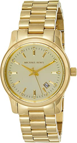 Michael Kors Women's Runway Rose Gold Tone Watch MK5128