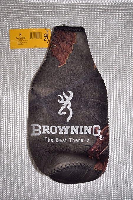 BT Outdoors Browning Camo Buckmark Bottle Zipper Cooler