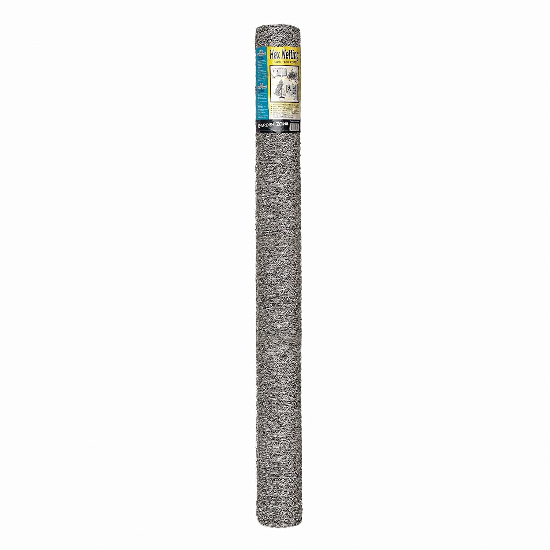 Origin Point Brands 164850 20-Gauge Handyroll Galvanized Hex Netting, 50-Foot X 48-Inch with 1-Inch Openings 100050531 199257U