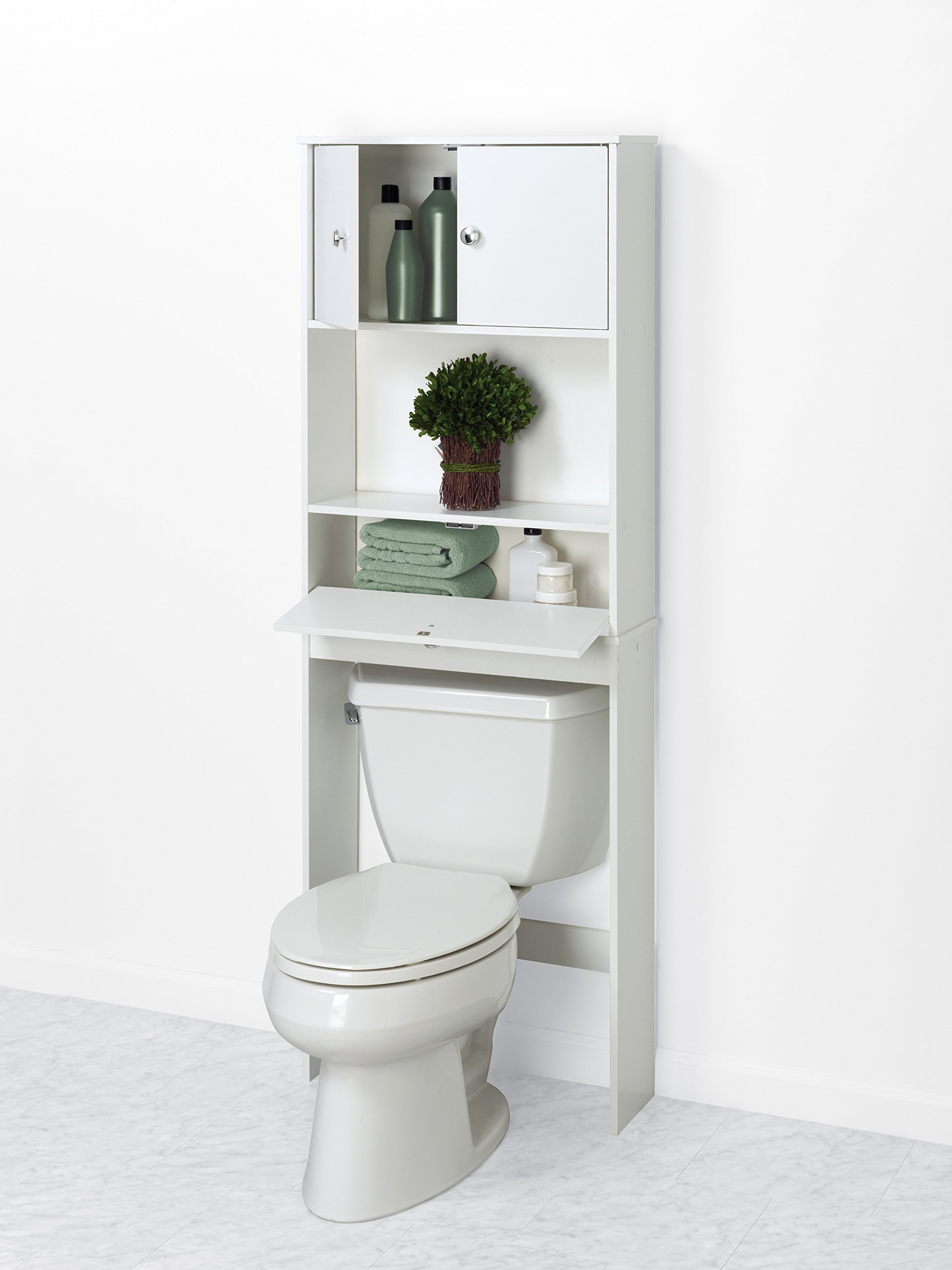 bathroom toilet cabinet the white spacesaver rakuten choice best space over product storage bestchoiceproducts saver products shop
