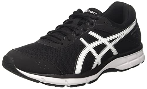 Asics Men's Gel-Galaxy 9 Sneakers, Black (Black/White/Snow)