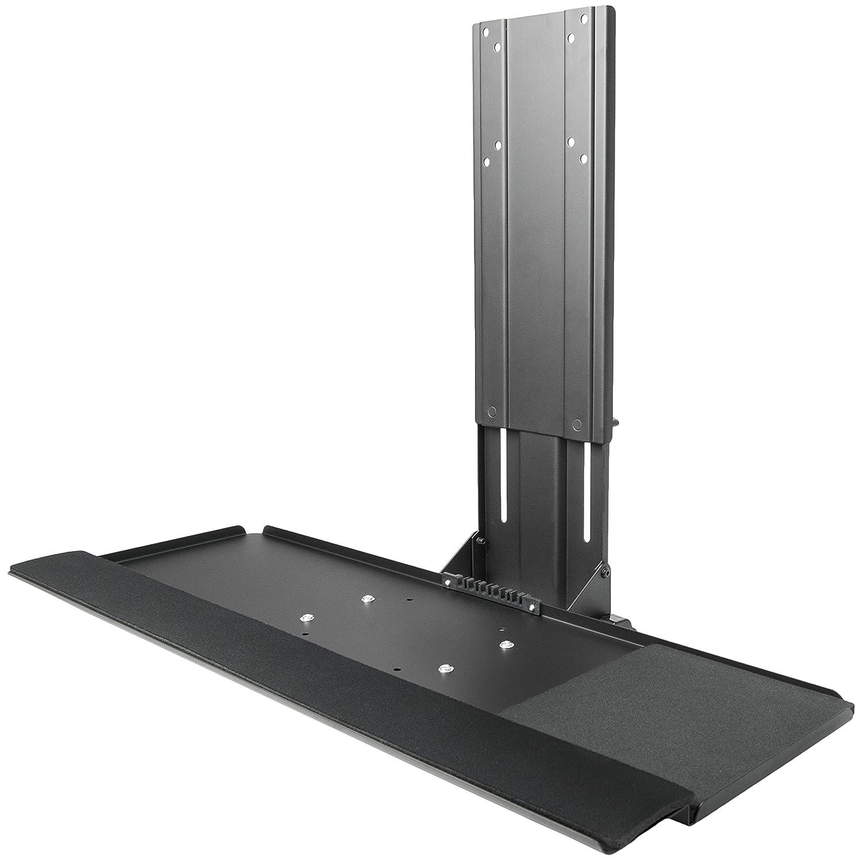 VIVO Computer Keyboard & Mouse Platform Tray Adjustable VESA Mount Attachment (MOUNT-KB02)