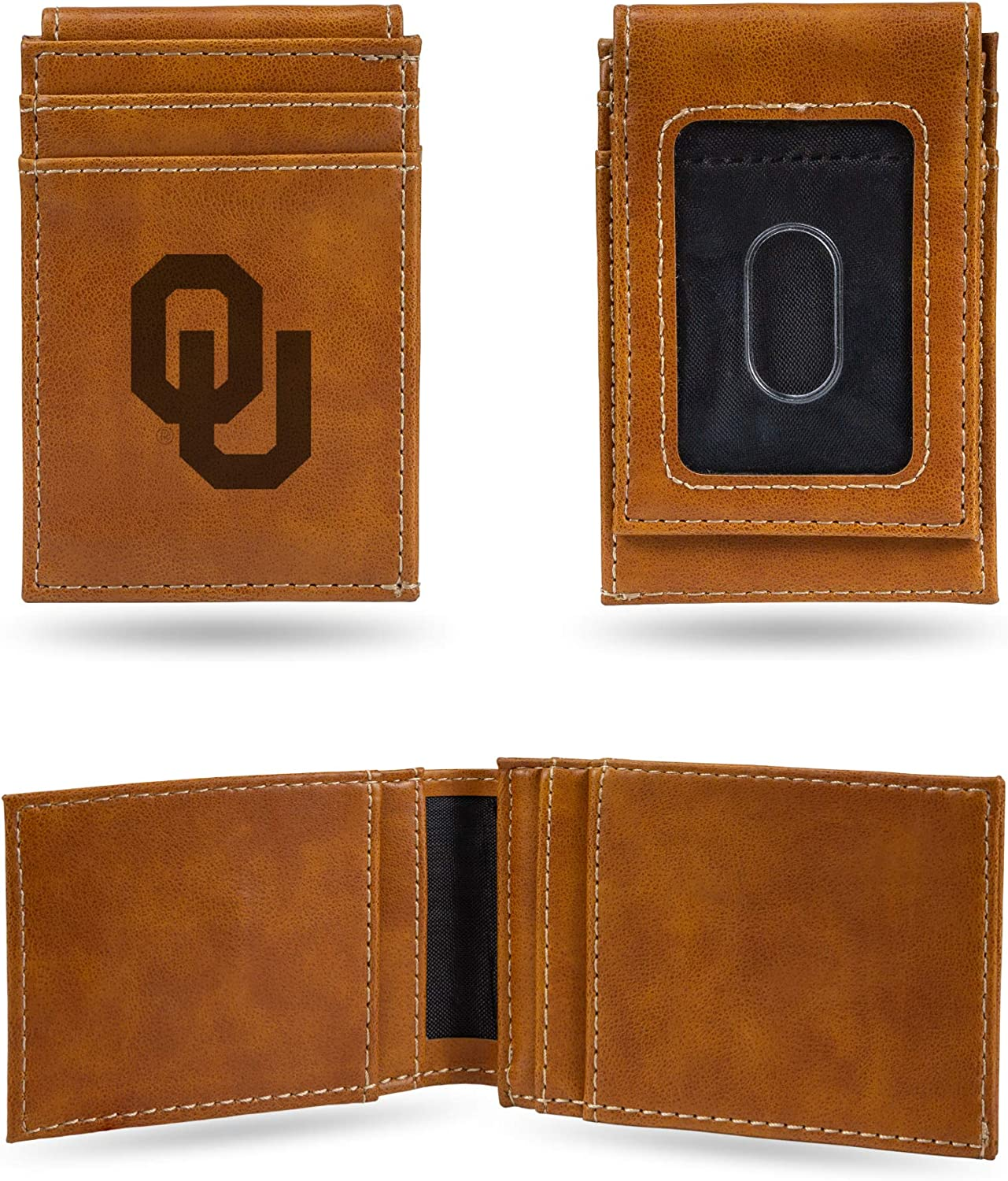 Oklahoma State Cowboys NCAA Rico Industries  Laser Engraved Billfold Wallet