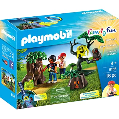 PLAYMOBIL Night Walk Playset: Toys & Games