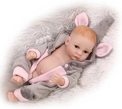 "11/"" Newborn Doll Lifelike Full Silicone Reborn Baby Dolls Toddler Boy Xmas Gift"