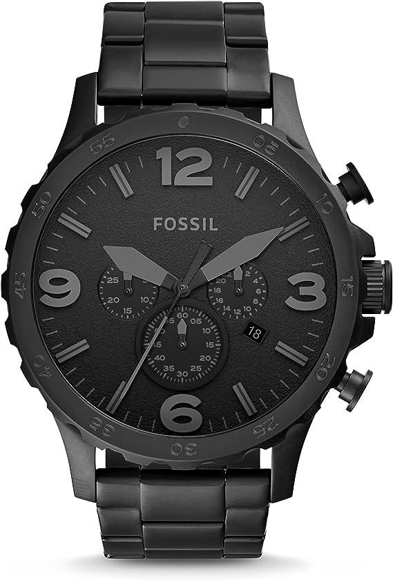 Amazon.com: Fossil Nate - Reloj de cuarzo para hombre de ...