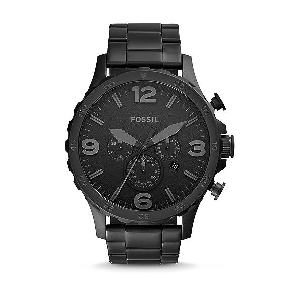 Uhr Mit Edelstahl Fossil Jr1401 Analog Herren Quarz Armband 543RjLqcA