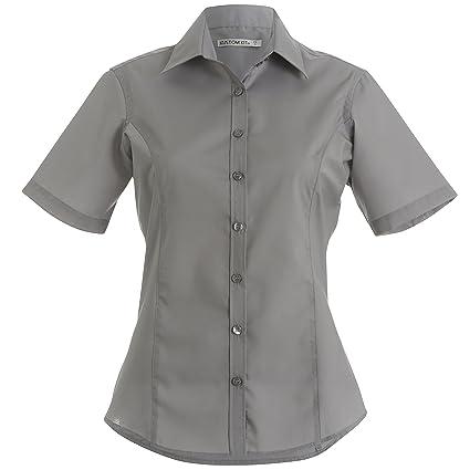 Blusa de manga corta de negocios