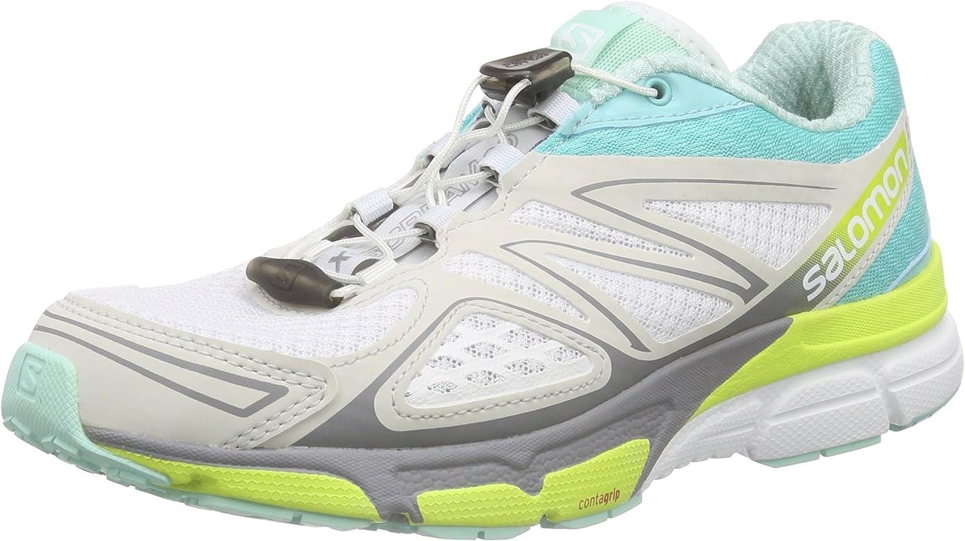 Salomon X-Scream 3D W White/Bubble Blue/GE Talla:7: Amazon.es: Zapatos y complementos