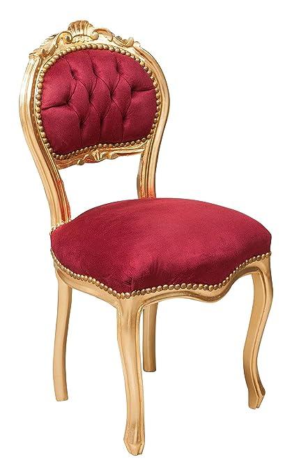 Juego de 2 sillas francesas Luis XVI en madera maciza de ...