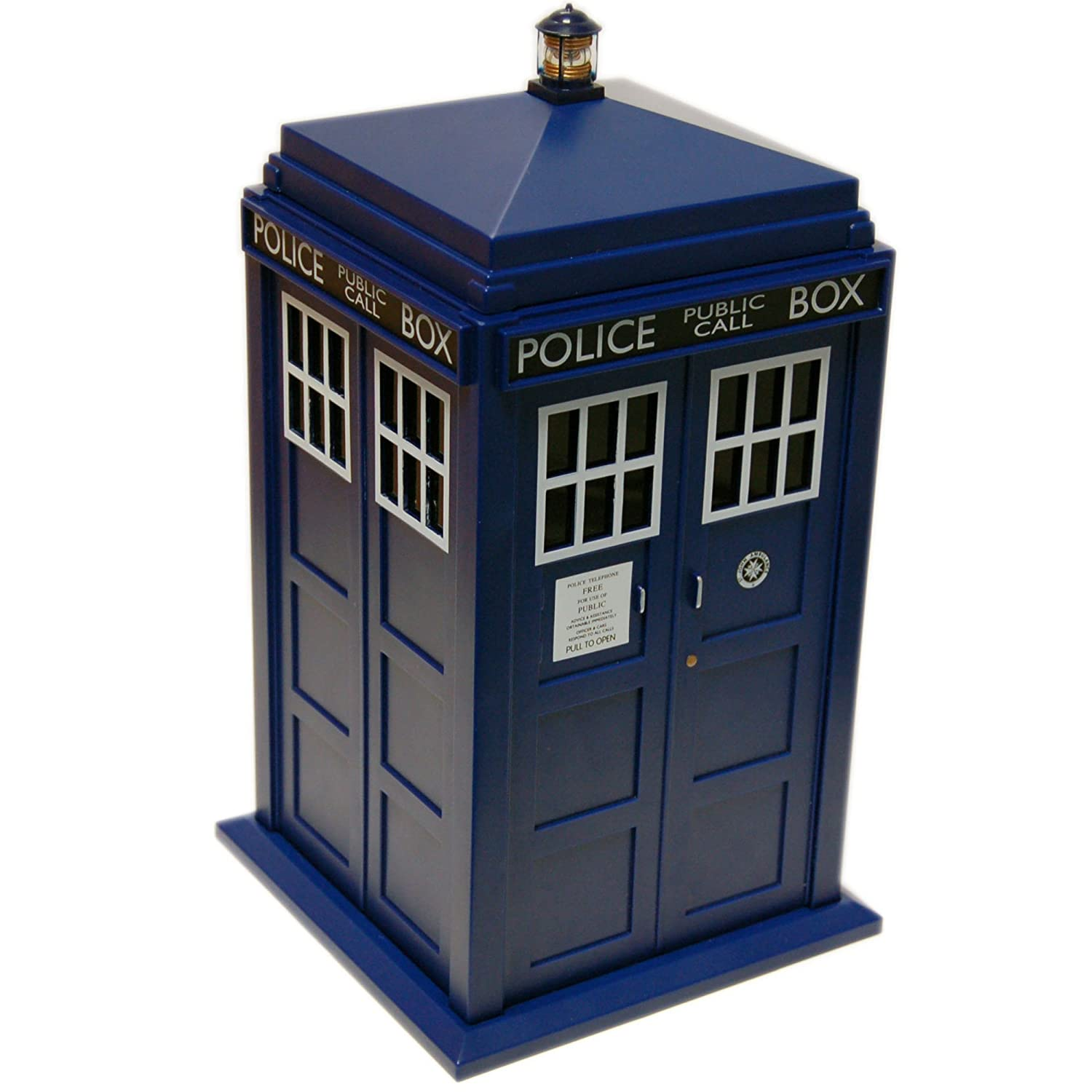 Doctor Who Tardis Cookie Jar Lights & Sounds Everready First Aid UGTDR48