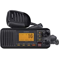 $100 Get Uniden UM385BK 25 Watt Fixed Mount Marine Vhf Radio, Waterproof IPX4 W/ Triple Watch, Dsc,…