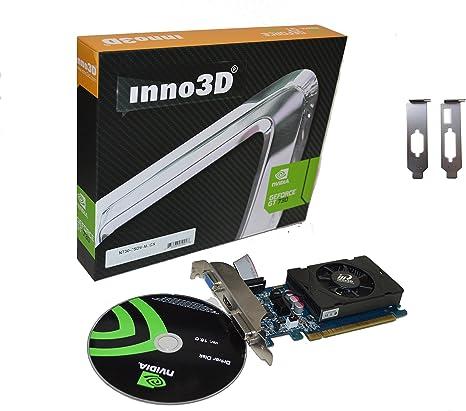 Amazon.com: Inno3D NVIDIA GeForce GT 730 DDR3, HDMI, DVI ...