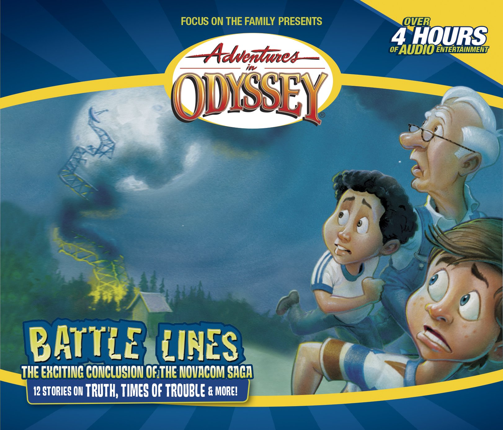 Battle Lines (Adventures in Odyssey): AIO Team: 0023755041920: Amazon.com:  Books