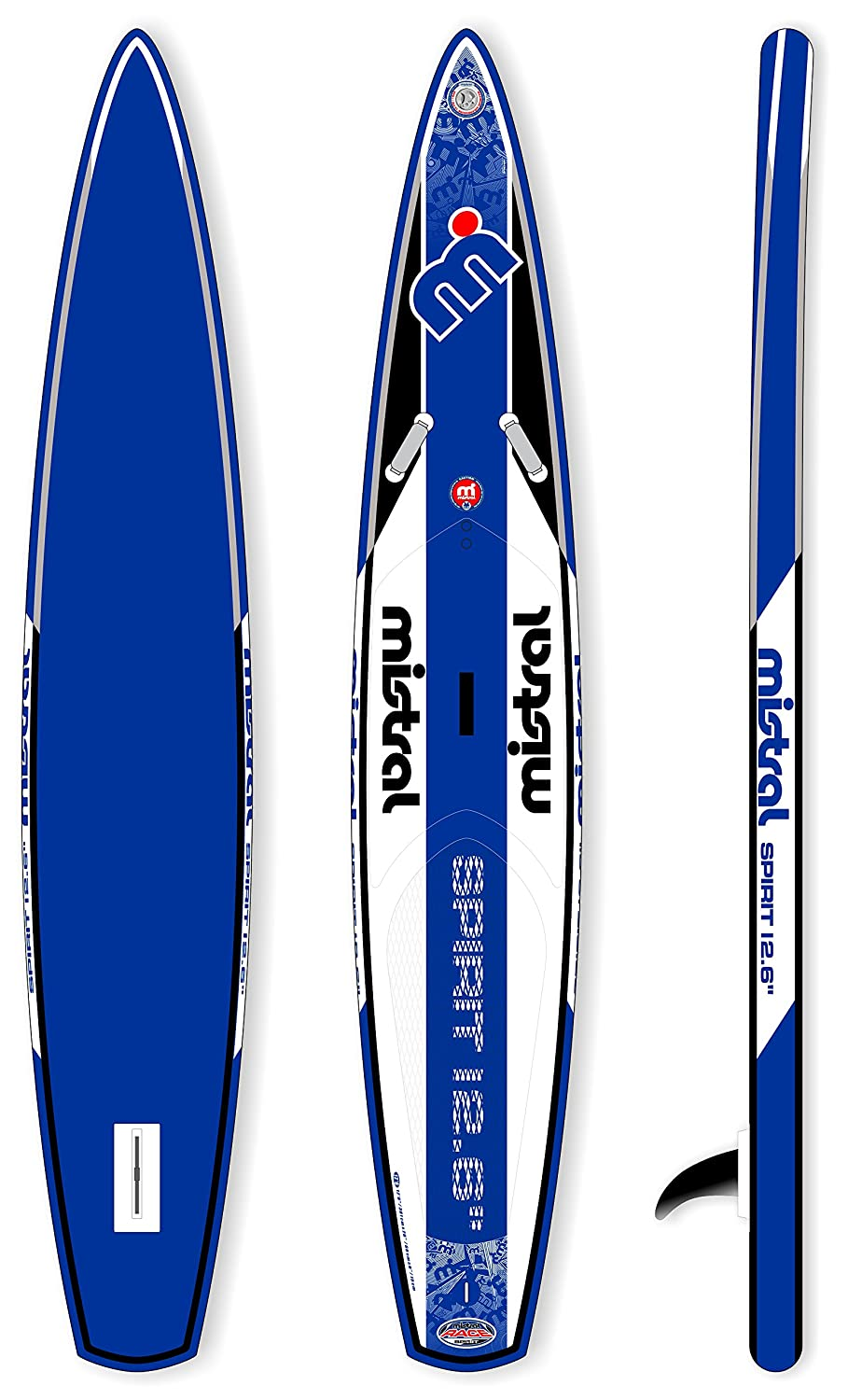 Mistral Spirit Touring de Race 12 6 Standup - Tabla de Surf de remo hinchable Incluye supwave. de Coil de Leash, Stand Up Paddle Board ISUP: Amazon.es: ...