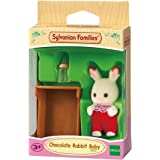 Sylvanian Families - Bebé conejo, color chocolate (3410)