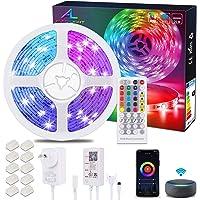 Alexa WiFi LED Strip 20M / 65.6Ft, Ultra Long ALED LIGHT RGB LED Light Strip, Smart Phone APP Controlled Music Sync…