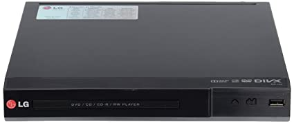 LG DP132 - Reproductor de DVD (Dolby Digital, USB, MP3), color
