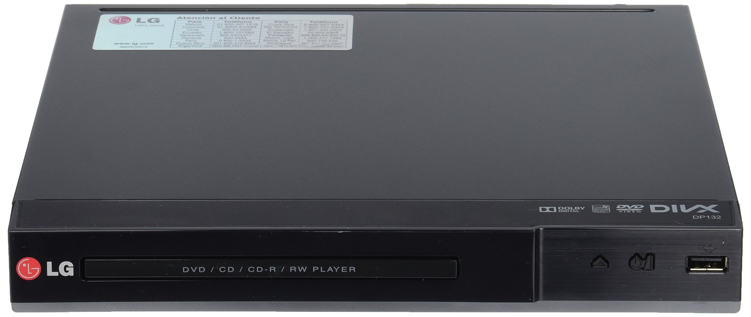 LG DP132 DVD Player With Flexible USB & DivX Playback by LG