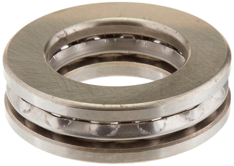 Silber 51207 37mm x 60mm x 16mm Magnetische Axial Druckkugellager sourcing map a13112200ux0941