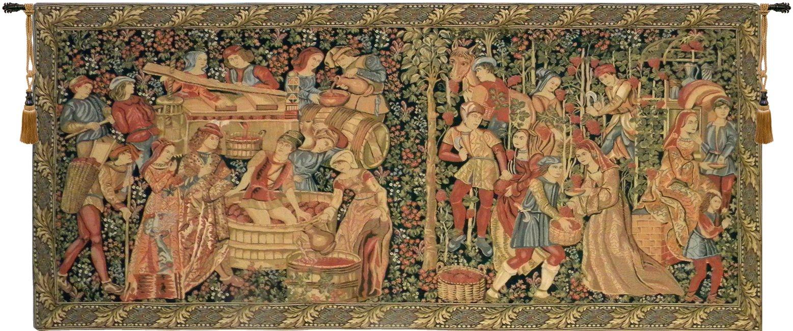 Vendage European Wall Tapestry