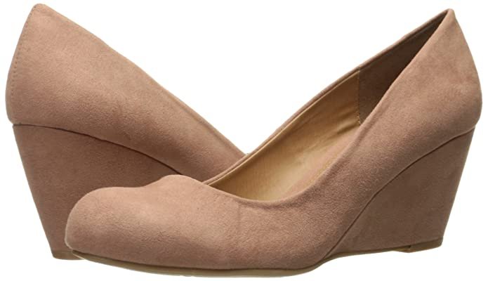 4d72e3baf2 CL by Chinese Laundry Womens Nima Super Suede Wedge Pump: Amazon.ca: Shoes  & Handbags