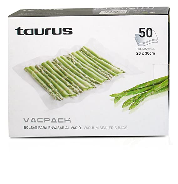 Amazon.com: Taurus 999183000 50 Vacpack Bags Transparent ...