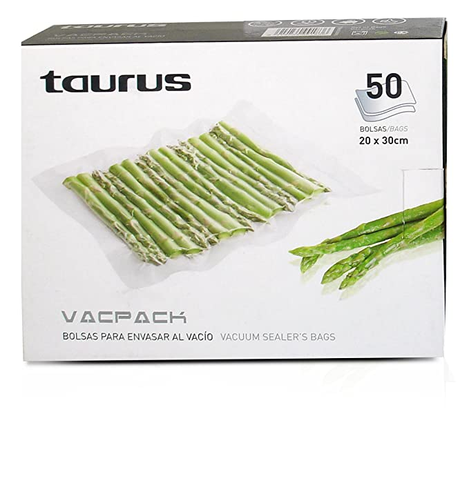 Amazon.com: Taurus 999183000 - Bolsas de vacío (50 unidades ...