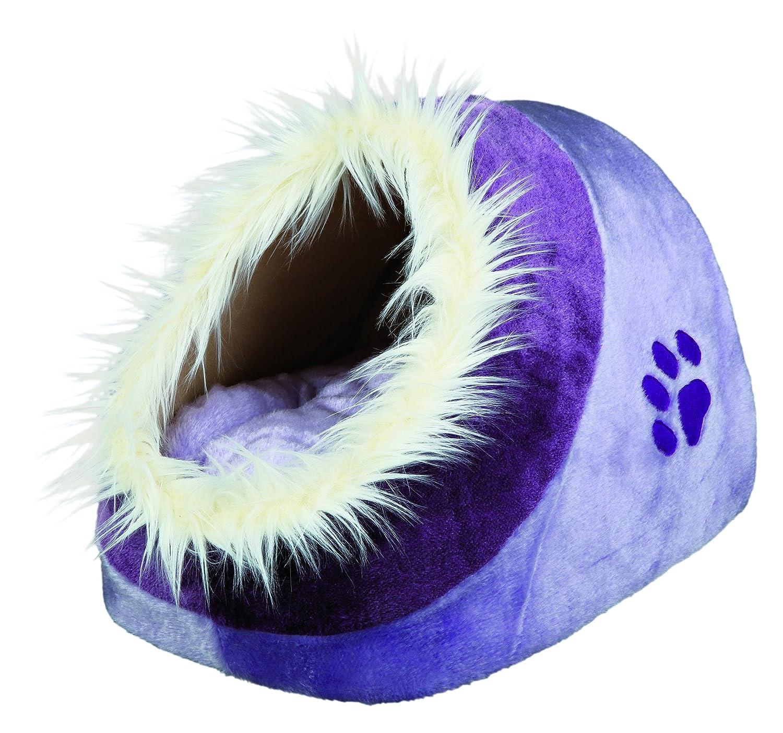 Trixie Minou cuddly cat   dog cave, 35 × 26 × 41 cm, purplec purplet by Trixie