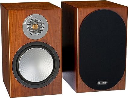Amazon Com Monitor Audio Silver 100 Bookshelf Speakers Pair