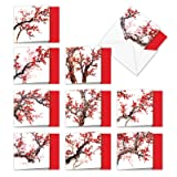 Cheers and Cherries - 10 Blank All Occasion