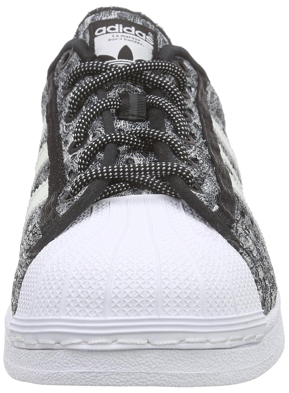 adidas Superstar Glow in The Dark, Baskets Basses Homme, Noir-Schwarz (Core Black/Shock Mint S16/Ftwr White), 42 2/3 EU
