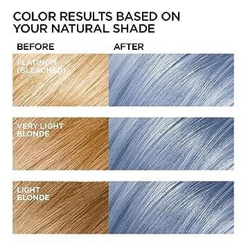 L Oreal Paris Hair Color Feria Pastels Dye Smokey Blue P1