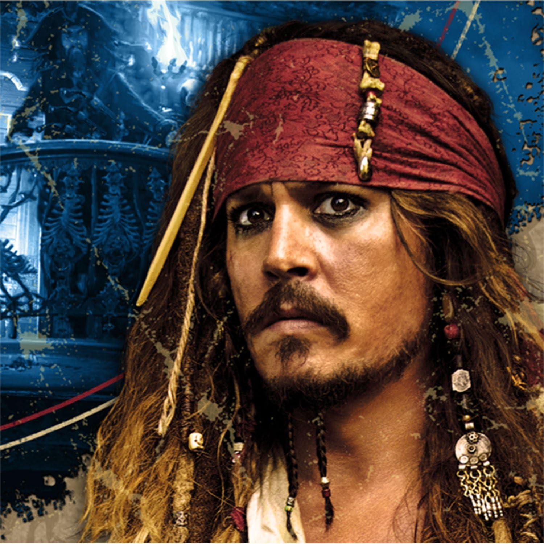 Hallmark Pirates of The Caribbean 4 Beverage Napkins 16c