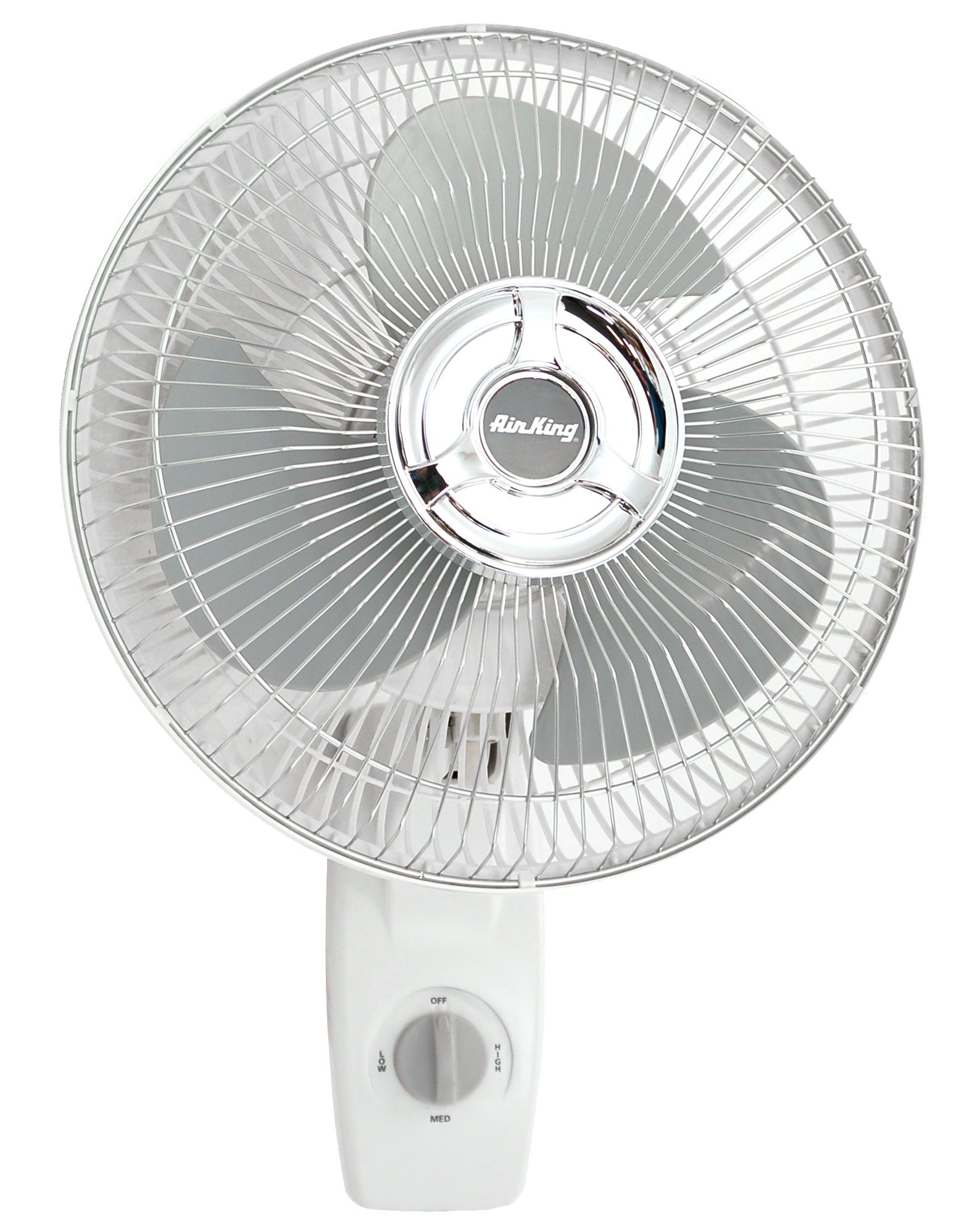 Air King 9012 Commercial Grade Oscillating Wall Mount Fan, 12-Inch