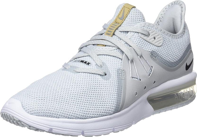 Nike Wmns Air MAX Sequent 3, Zapatillas de Entrenamiento para Mujer, Gris (Hellgrau Hellgrau), 40.5 EU: Nike: Amazon.es: Zapatos y complementos