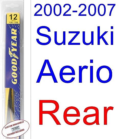 Suzuki Aerio - Juego de limpiaparabrisas de repuesto para Suzuki (2003, 2004, 2005