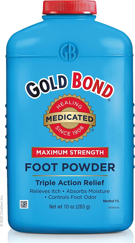 Gold Bond Maximum Strength Foot Powder, 10 Ounce, Multi: Health & Personal Care