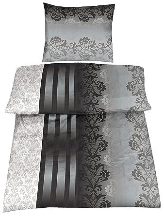 Basatex 4 Teilig Microfaser Bettwäsche Ruben 155x220 80x80 Amazon