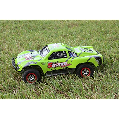 SummitLink Compatible Custom Body Green Replacement for 1/10 Scale RC Car or Truck (Truck not Included) SSJ-G-01: Toys & Games