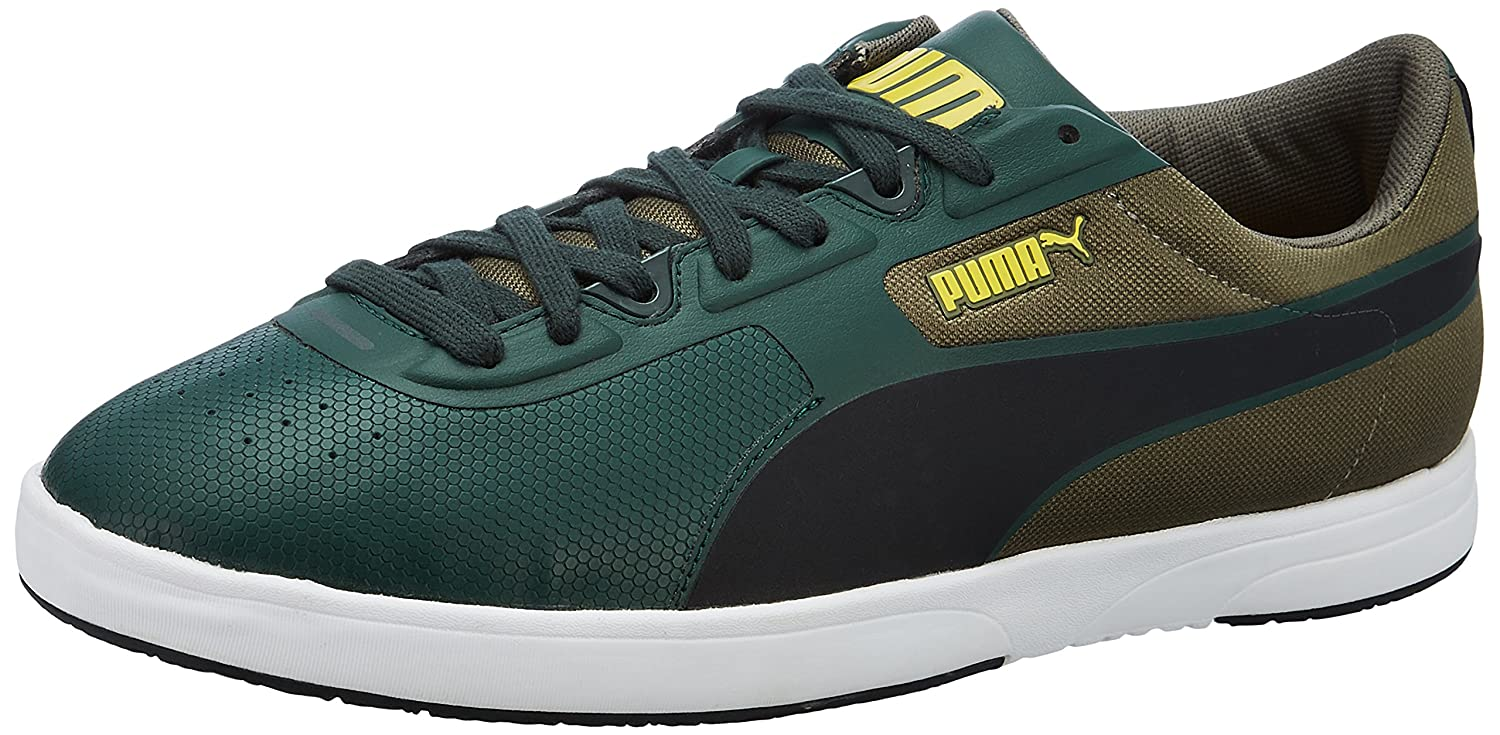 bd35cbf98a674 Puma Unisex Future Brasil Lite Rugged Multi-Color Leather Boat Shoes - 10  UK: Amazon.in: Shoes & Handbags