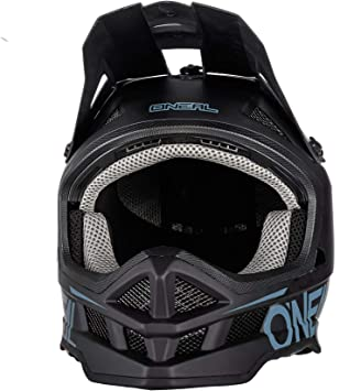 Oneal Blade Polyacrylite Helm Solid Black Motorradhelm Mx Motocross Sport Freizeit