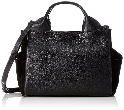 481c3456e8 Clarks Talara Wish, Women's Handbag, Black (Black Leather), 13 x 20 ...