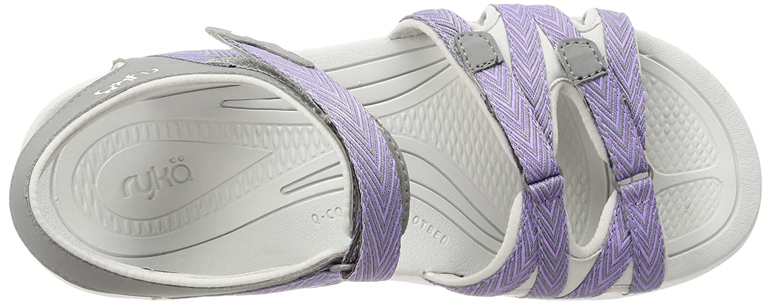 Ryka Women's W Savannah Sandal B01KWH6S56 6 W Women's US|Grey/Purple 9e921c