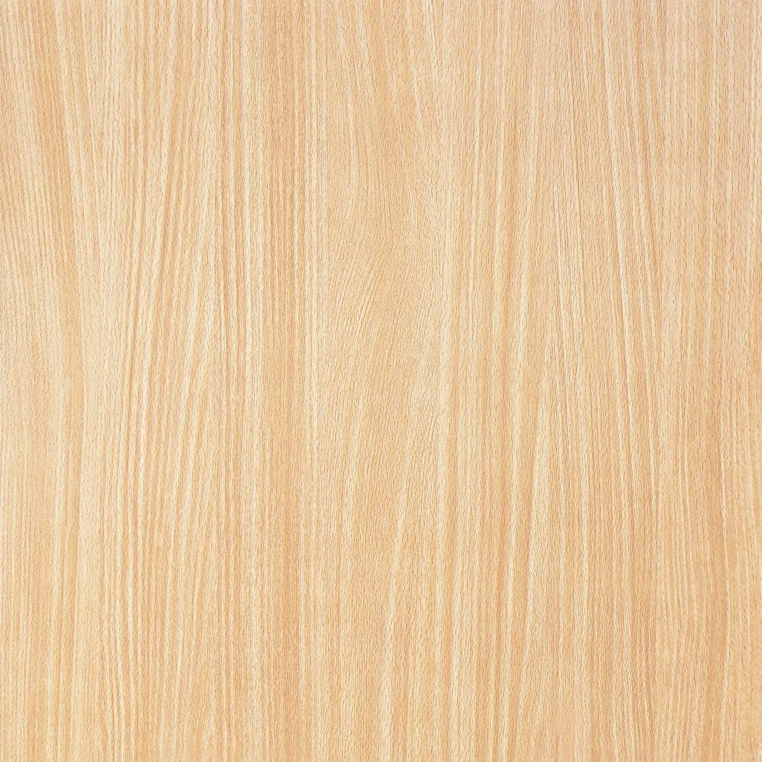 """Wood Grain Peel and Stick Film for Cabinets Shelves Drawers Self-Adhesive Panel for Kitchen Removable Faux Mapel Wood Textured Decal Peel and Stick Wallpaper Vinyl Decorative Roll 17.8""""x6.6'"""