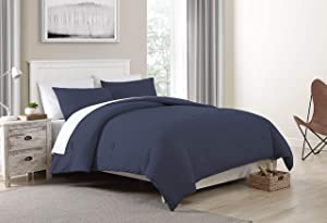 Morgan Home Fashions Jersey Knit Comforter Set- Soft Cozy and Lightweight Keeps You Warm and Comfortable All Year (Marlin, Full/Queen)