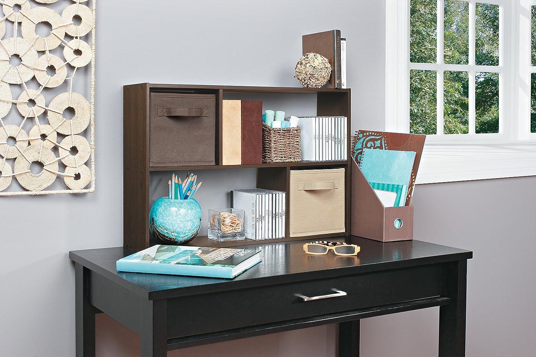Amazon.com: ClosetMaid 1572 Cubeicals Mini Fabric Drawer, Mocha, 2 Pack:  Home U0026 Kitchen
